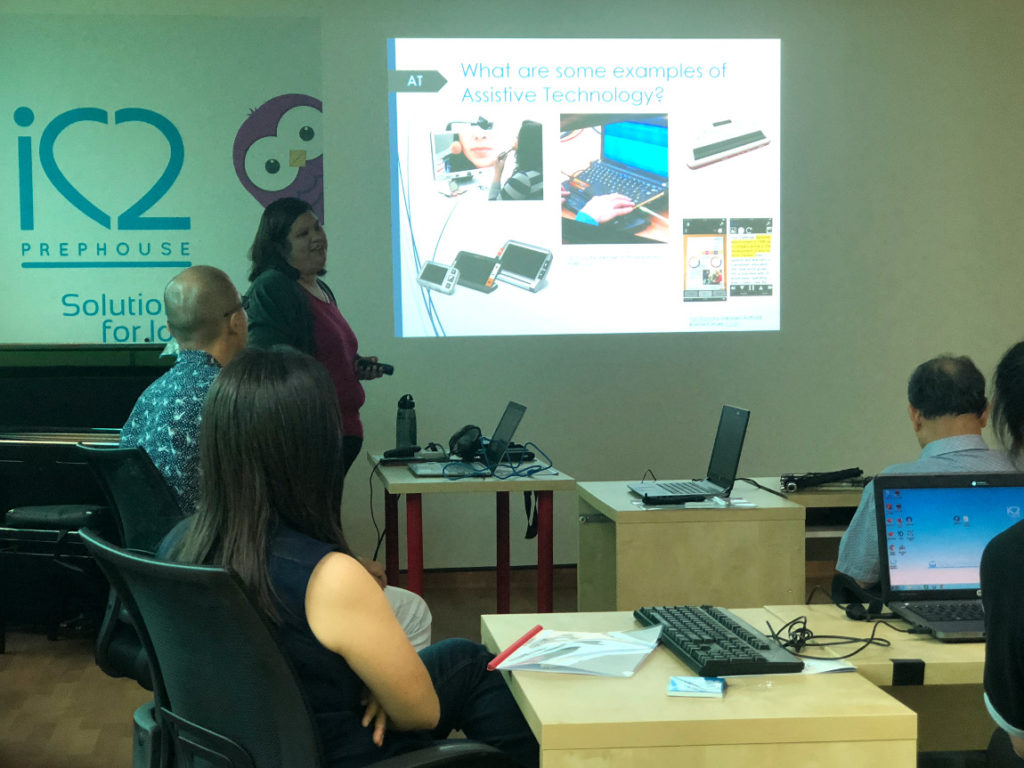 2019 Training Session on Assistive Technology