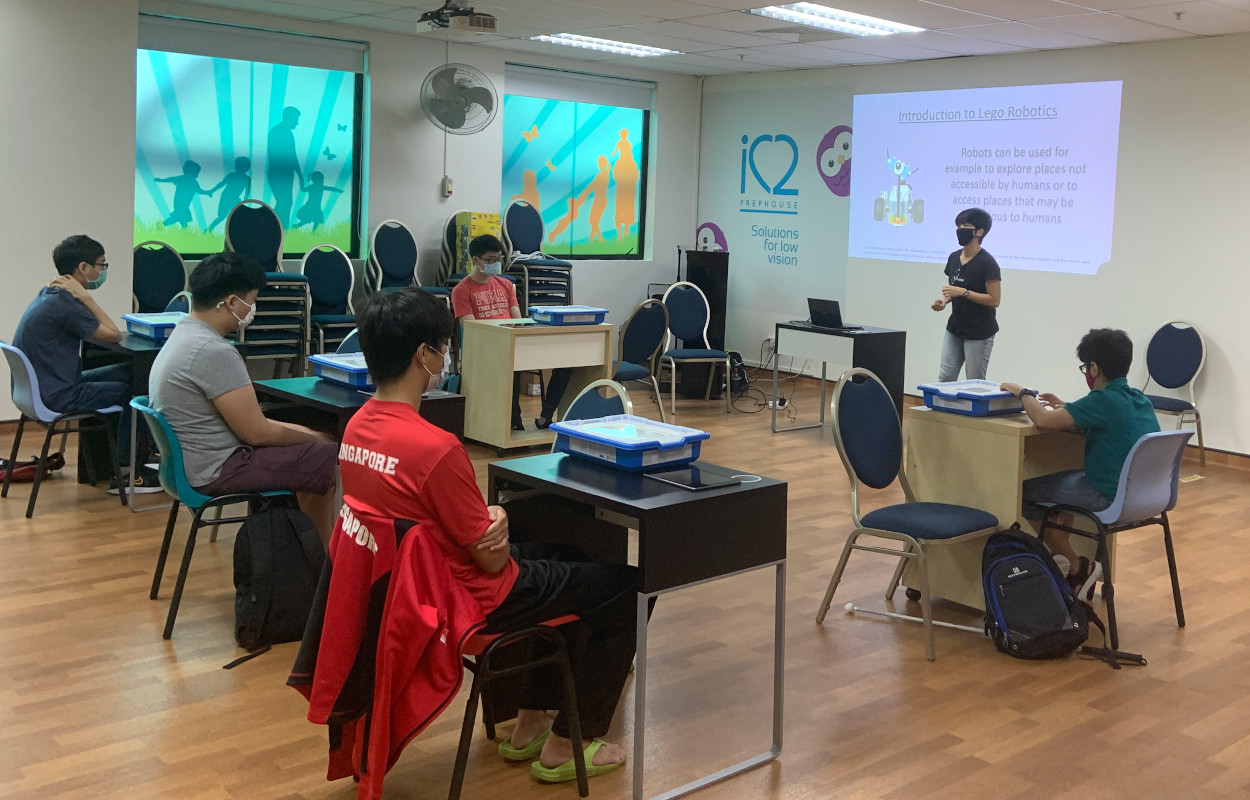 In collaboration with Tech Able, Lego (Singapore), and Curious Squirrel, a Lego Coding Workshop was organised for our older teens in November.