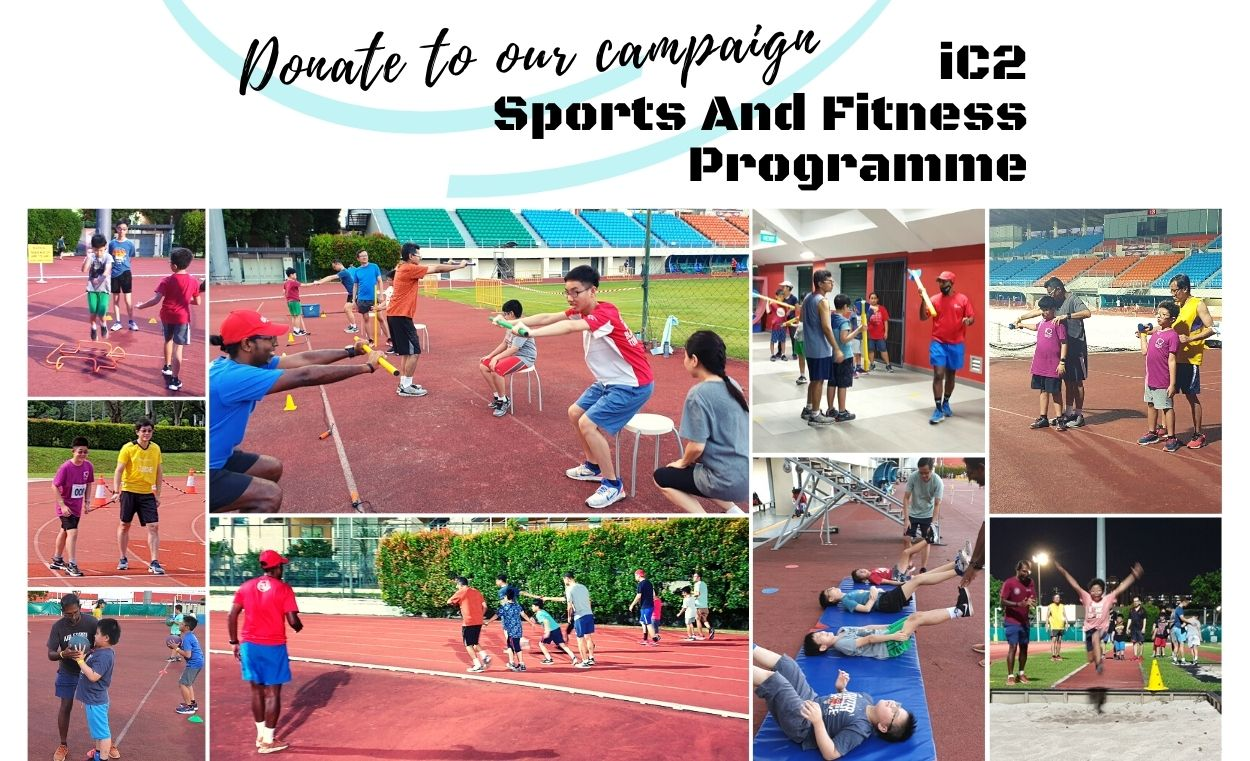 Kindly donate to iC2 Sports And Fitness programme campaign