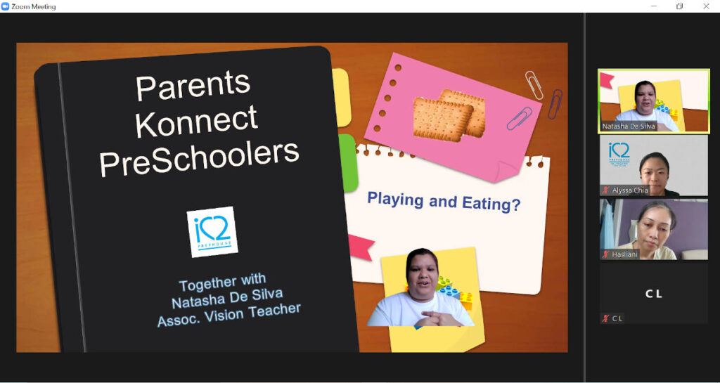 2021 PSG (Parents Support Group) – Pre-schoolers